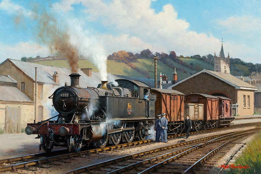 Railway Paintings By Rob Rowland Gra
