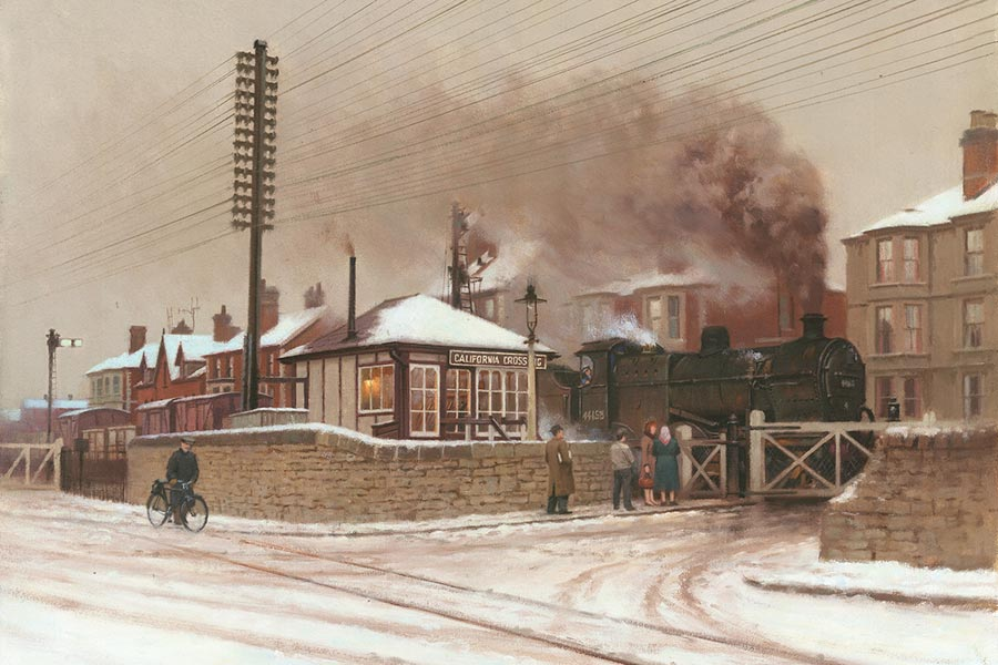 Road Signs For Sale >> Railway & Landscape Paintings by Rob Rowland GRA