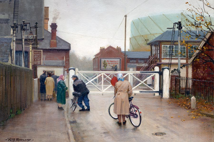Railway Amp Landscape Paintings By Rob Rowland Gra